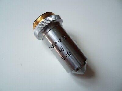 Lens Plan-apo 16 040 Planapochromat Lomo For Microscope