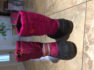 Girls Sorel winter boots