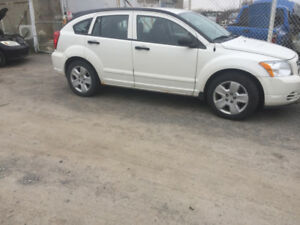 2007 dodge caliber white certified