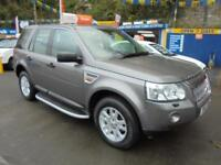 2007 07 LAND ROVER FREELANDER 2.2 TD4 SE AUTO IN GREY # FULL HISTORY SAT NAV #