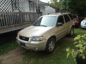 2007 Ford Escape sxt limited SUV, Crossover