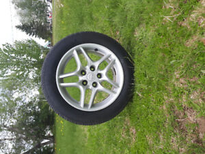 Price reduced rim and tire set