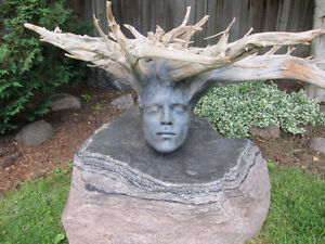Driftwood Lifecast Sculpture by artist Jamie Brick