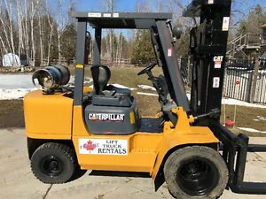 OUTDOOR CAT FORKLIFT-8000lbs capacity