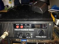 Marine radio vhf as exhibit or etc