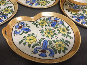 Collectible Antique Antique Hand Painted Cups & Plates London Ontario image 5