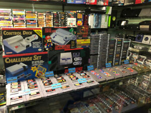 Full Restock of Retro Nintendo Games @ Stittsville Flea Market
