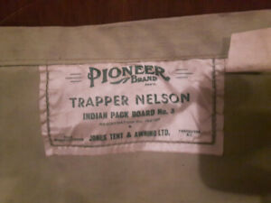 Pioneer Brand Trapper Nelson Indian Packboard No.3