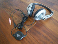Logitech Headset *** with volume and mic control ***