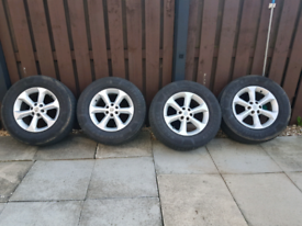Navara wheels n tyres