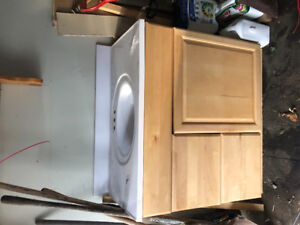 Good condition vanity with top