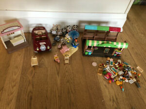 4 Calico Critters sets