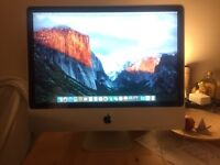 "iMac 24"" from 2008 in good condition (Capitán installed)"