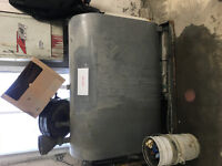 Used oil steel container ( for oil changes) 910 L