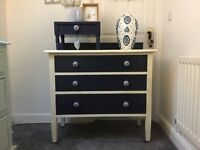 A solid set of drawers on wheels for sale