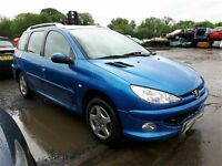2006 PEUGEOT 206 SW VERVE NOW BREAKING FOR PARTS