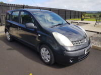 2006 VGC/FSH Nissan Note S 1.4 Petrol 88k (Not Jazz, Civic, Focus, Astra Or Golf)
