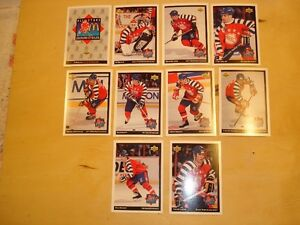 McDonald's 1992-93 /1993-94 Hockey Cards