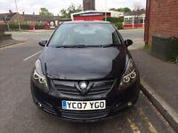 Vauxhall Corsa D 1.4 2007 07 Reg 3 door Black