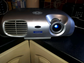 Epson LCD Multimedia Projector with remote controls and spare bulb