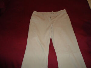 Jacob Casual Dress Pants- Khaki Cords with slight flare 13/14
