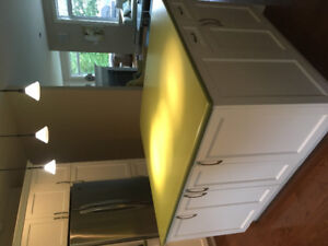 Corian centre island kitchen countertop