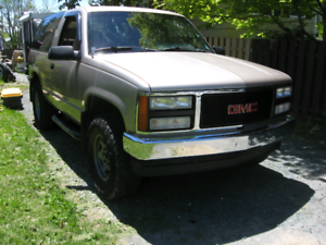 1992 gmc yukon 2door