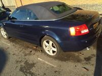 Audi A4 Cabriolet Automatic 2.4 in Good Condition