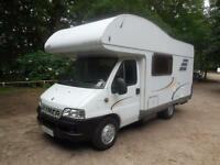 Hymer C544 Classic 4/5 Berth End Kitchen Motorhome For sale