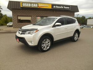 2013 Toyota RAV4 Limited AWD Peterborough Peterborough Area image 2