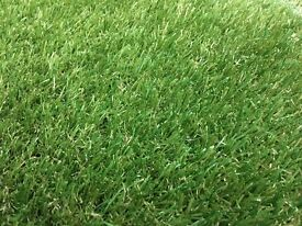 Artificial Grass Offcut. High Quality 35mm Deep. Unused. 3m X 1.7m