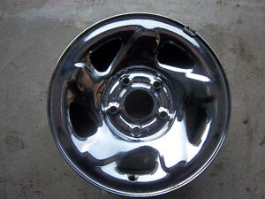 Set of Four (4) Dodge Ram Pickup Chromed 5 Bolt Pattern Rims