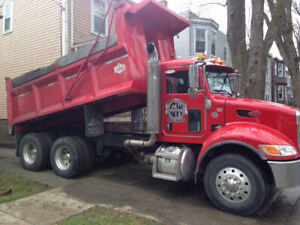 LOOKING FOR A DUMP TRUCK DRIVER