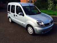 ++ RENAULT KANGOO 1.6 AUTOMATIC++ELECTRIC WINCH++FULL SERVICE HISTORY++LOW MILES++