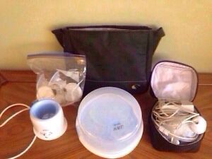 Breast pump double electric