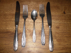 vintage flatware - Haddon Hall - Canadiana