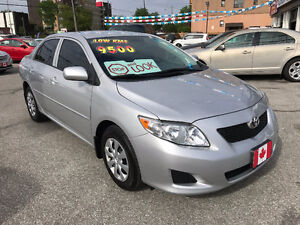 2010 Toyota Corolla CE SEDAN...ONLY 88,000KMS...MINT COND.