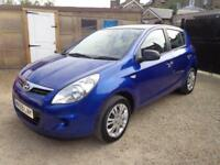 2009 Hyundai i20 Classic 1.2 Petrol 5 Door FSH FREE Warranty & 12 Months MOT