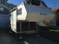 1987 Skipper/Scamper 5th Wheel Travel Trailer for sale