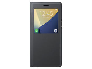 wholesale dealer 9c668 b3059 Samsung Galaxy Note 7 S-View Flip Cover Black