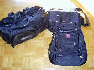 3 sacs pour laptops SWISSGEAR neuf a vendre haute gamme!