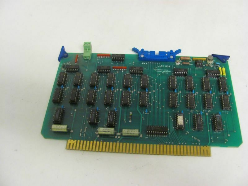 PACKAGE MACHINERY PC 1135 CONTROL BOARD USED