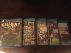 PS4 Games for Sale!!! Cambridge Kitchener Area image 1