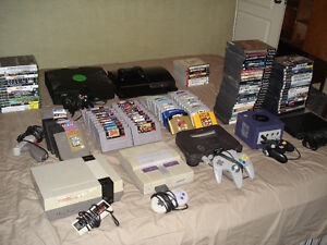 PAYING CASH FOR RETRO AND NEWER VIDEO GAMES
