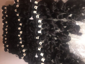 100% Pure virgin hair extensions -Montreal