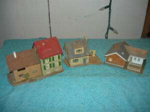 Model Train Accessories and Model houses