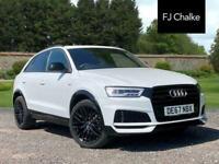 2017 Audi Q3 2.0 TFSI Black Edition S Tronic quattro (s/s) 5dr Automatic SUV Pet