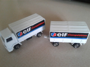 Majorette ELF Competition Truck FORD Vintage