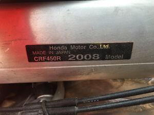 Honda CRF 450r - great starter - Never raced. Regina Regina Area image 3