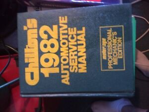 Older auto motive books and service manuals GM